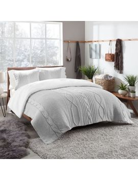Ugg® Sloanne Reversible Full/Queen Comforter Set In Glacier Grey by Bed Bath And Beyond