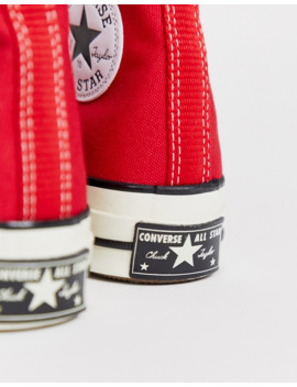 Converse   Chuck '70   Baskets Montantes   Rouge by Converse