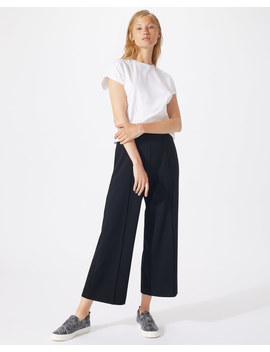 Sport Luxe Wide Leg Crop Trousers Sport Luxe Wide Leg Crop Trousers by Jigsaw