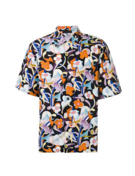 Floral Print Shirt by Prada