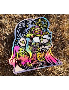 Princess Bean Holographic Sticker by Etsy