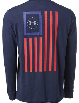 Under Armour Men's New Freedom Flag Long Sleeve Graphic Shirt by Under Armour