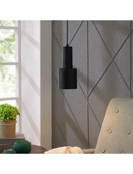 Strick & Bolton Brika Modern Single Light Pendant Lamp by Strick & Bolton
