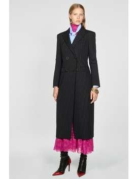 PŁaszcz O Kroju Sukienki W Tenisowy PrĄŻek by Zara