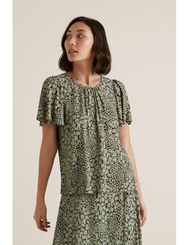 Spliced Animal Blouse by Seed Heritage
