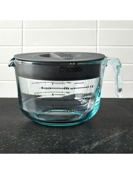 Pyrex ® 8 Cup Measuring Cup With Lid by Crate&Barrel
