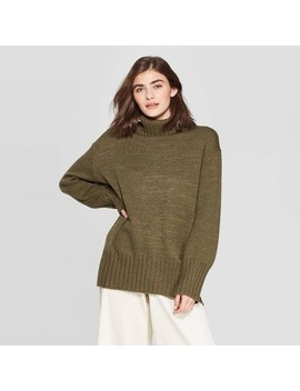 Women's Dolman Sleeve Turtleneck Tunic Sweater   A New Day™ by A New Day
