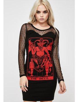 The Devil Mesh Dress by Vera's Eyecandy