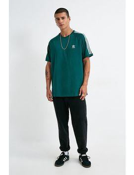 Adidas – T Shirt In Grün Mit 3 Streifen Design by Adidas Shoppen