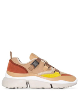 'sonnie' Canvas Sneakers by Chloé