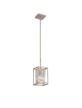 Syracuse 1 Light Single Square / Rectangle Pendant by Greyleigh