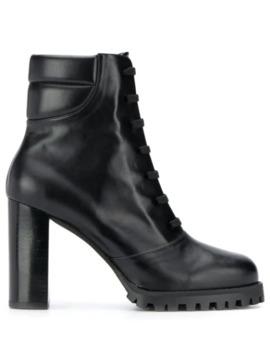 Cyler Platform Boots by Stuart Weitzman
