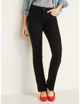 Mid Rise Kicker Boot Cut Jeans For Women by Old Navy