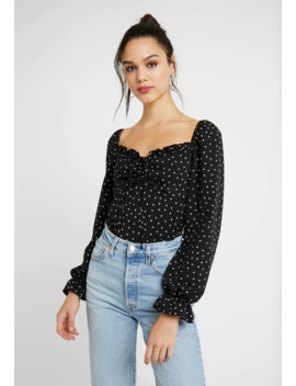 Star Long Sleeve Gigi   Camicetta by Topshop
