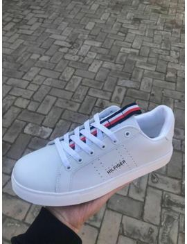2019 Hot Tommy Jeans Icon Sneaker Casual Trainers Shoes Womens Mens Uk Size 4 9 by Ebay Seller