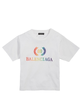 Kids Rainbow Logo T Shirt by Holt Renfrew