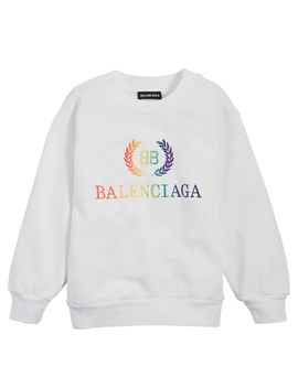 Kids Rainbow Logo Sweatshirt by Holt Renfrew