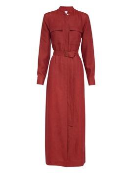 Utility Linen Shirt Dress by Bondi Born