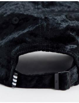 Adidas Originals Velvet Cap In Black by Adidas
