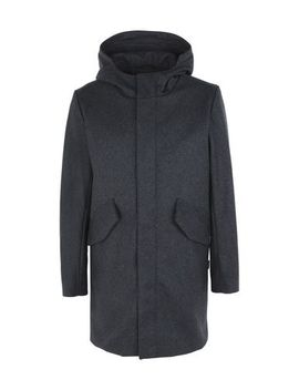 Hooded Wool Jacket by Makia