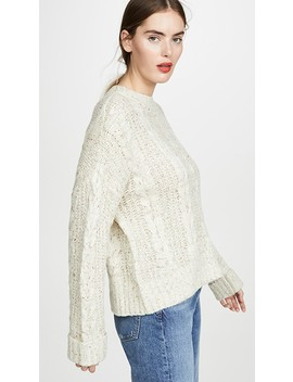 Cable Knit Sweater by J.O.A.