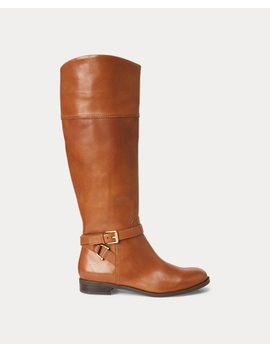 Bosworth Leather Boot by Ralph Lauren