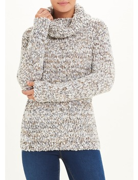 Relaxed Cowl Neck Jumper by Matalan