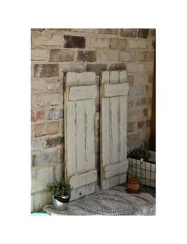 Barnwood Shutters Wall Décor by Gracie Oaks