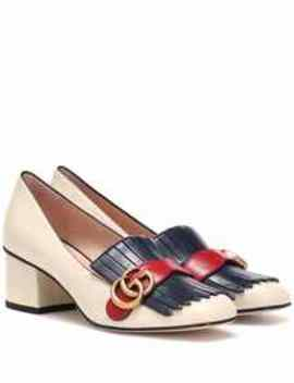Pumps Marmont Aus Leder by Gucci