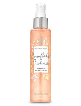 Snowflakes & Cashmere   Diamond Shimmer Mist    by Bath & Body Works