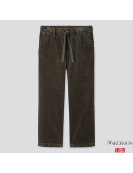 Men Corduroy Relaxed Drawstring Pants (Jw Anderson) by Uniqlo