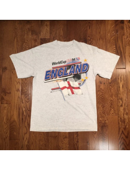 England World Cup Usa 1994 Tee by Vintage  ×  Sportswear  ×  Fifa World Cup  ×
