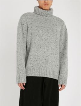 Turtleneck Wool And Cashmere Blend Jumper by Joseph