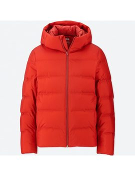 Men Seamless Down Hooded Parka (73) by Uniqlo
