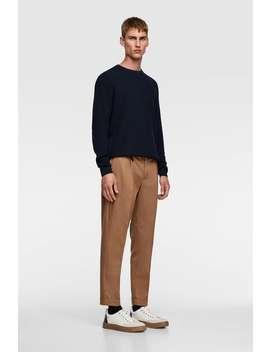 Coolmax® Pleated Pants by Zara