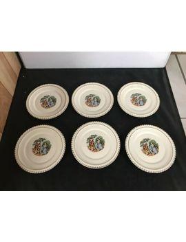 Set Of 6 Harker Pottery Co 22 Kt. Gold Plate by Ebay Seller