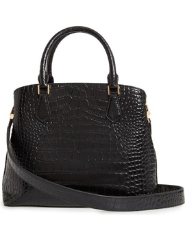 Robinson Croc Embossed Leather Tote by Tory Burch