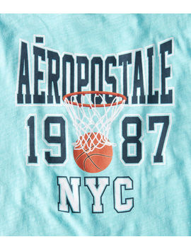 Aeropostale Basketball Graphic Tee by Aeropostale