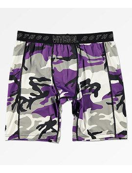 Rothco X Vitriol Quirk Purple Boxer Briefs by Zumiez