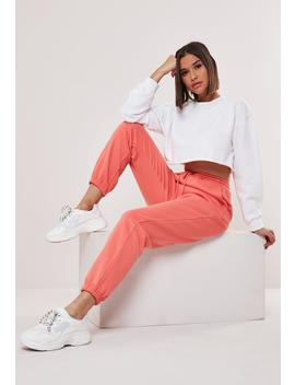 Tall Coral 90's Joggers by Missguided