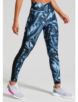 Souluxe Printed Gym Leggings by Matalan