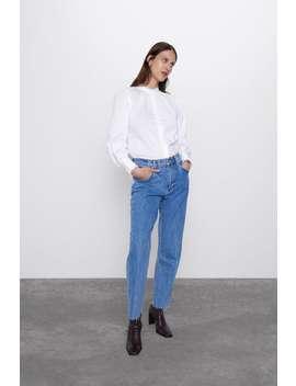 Camisa PopelÍn Ondas by Zara