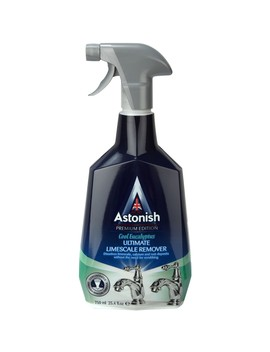 Astonish Premium Ultimate Limescale Remover Astonish Power Clean Toilet Bowl Tabs Astonish Premium Mould & Mildew Stain Blaster by Robert Dyas