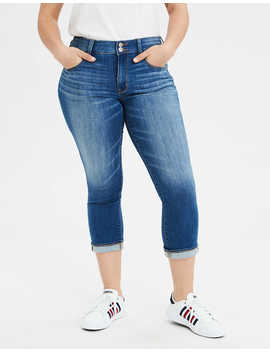 Ae Ne(X)T Level Artist Crop® Jean by American Eagle Outfitters