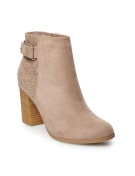 Lc Lauren Conrad Rosehip Women's Ankle Boots by Lc Lauren Conrad