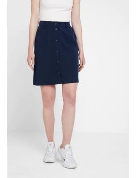 Visna Button Skirt   A Lijn Rok by Vila