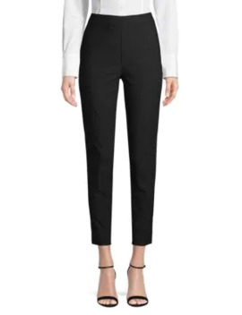 Houndstooth Flat Front Pants by Saks Fifth Avenue