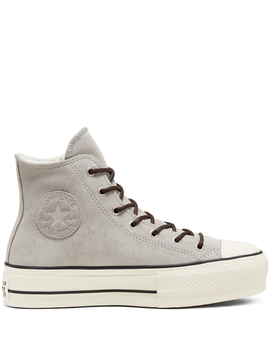Womens Sherpa Chuck Taylor All Star Platform High Top by Converse