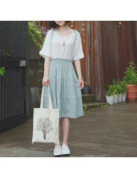 Mori Girls   Vestido Tipo Jersey Con Efecto Dos Piezas by Mori Girls