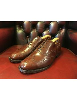 Church's Burwood Polished Binder Oxford Brogue Brown Size 10.5 (Uk) 44.5 (Eu) by Ebay Seller